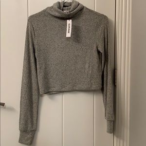 Garage Cropped Turtleneck *Price is NEGOTIABLE